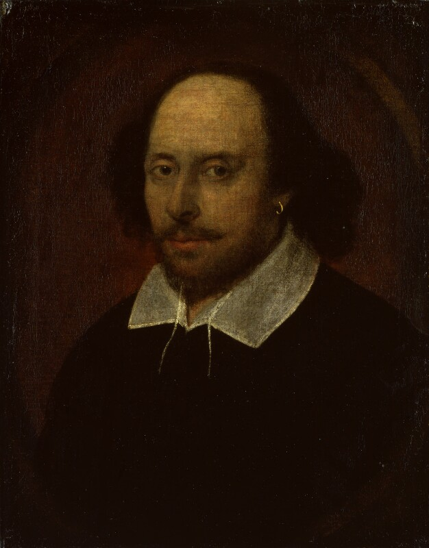 ©National Portrait Gallery, London; William Shakespeare associated with John Taylor