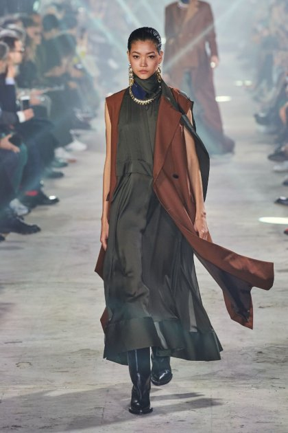 Split manga comprida Oversize chão Comprimento Maxi casaco longo inverno casaco feminino
