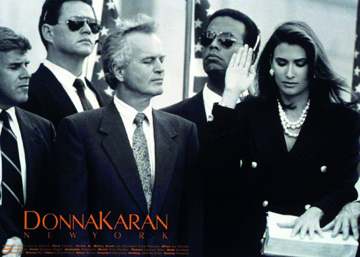 Campanha Donna Karan, 1992