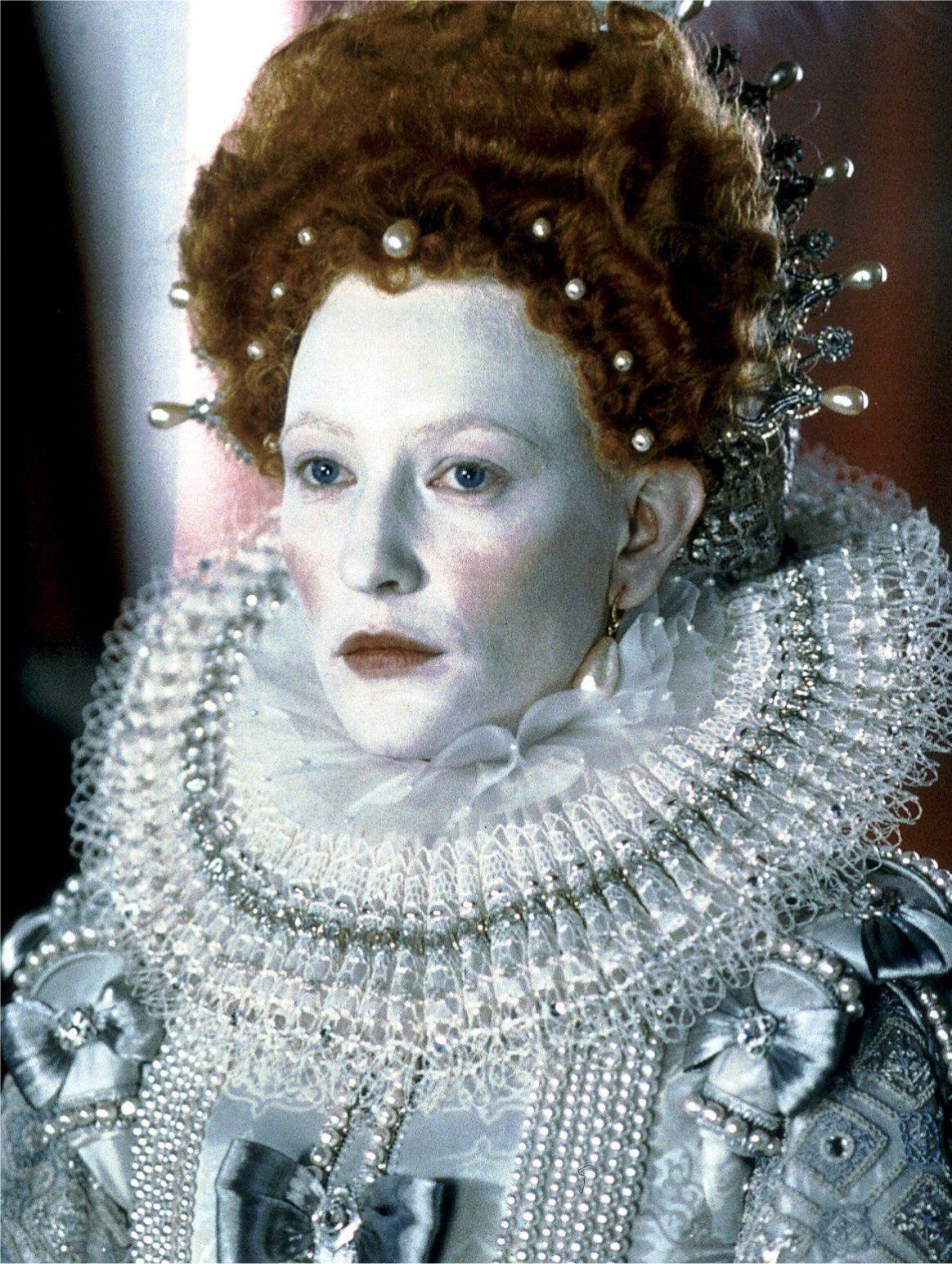 Cate Blanchett em 'Elizabeth', 1998 © D.R.