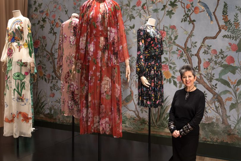 Portrait of Curator of the Gucci Garden Maria Luisa Frisa