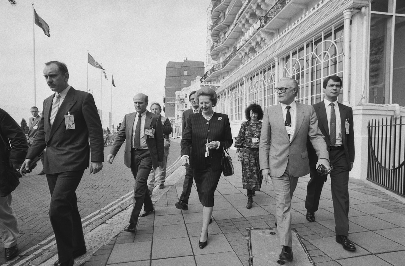 Margaret Thatcher, 1988 © Getty Images