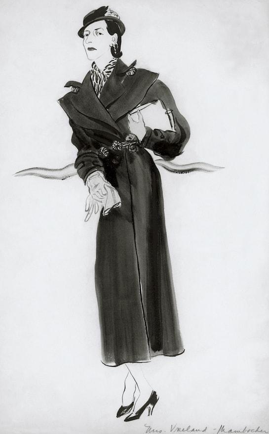 Ilustração de Rene Bouet-Willaumez, 1933 © Condé Nast Archive