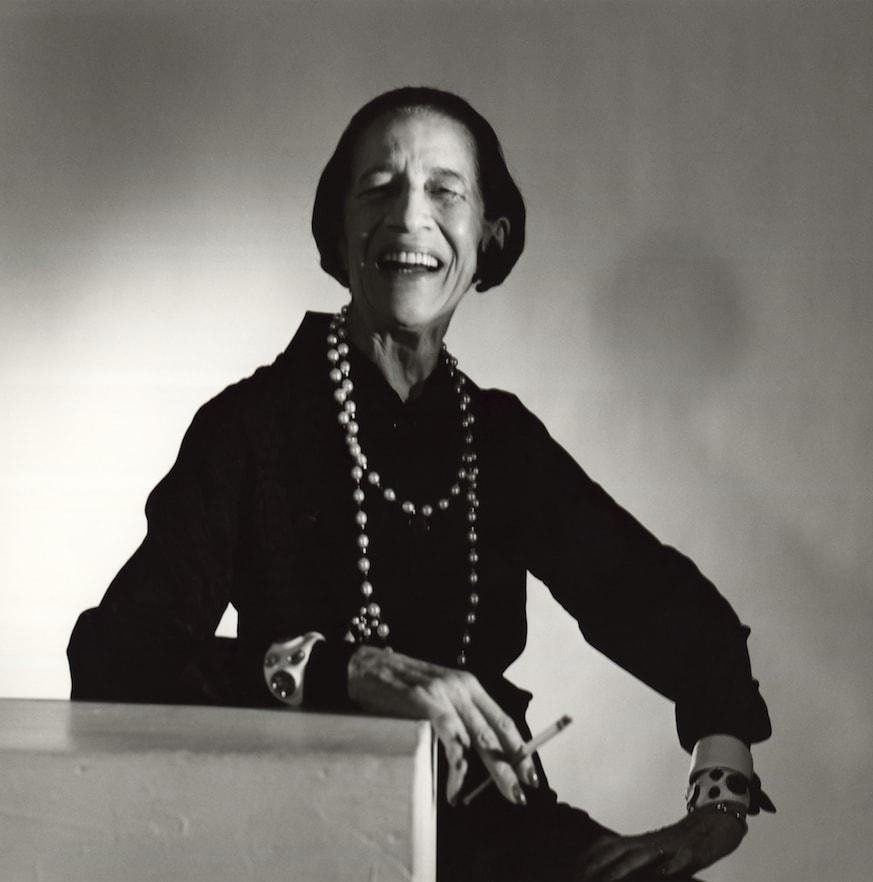 Diana Vreeland em 1979, fotografada por Horst P. Horst © Condé Nast Archive