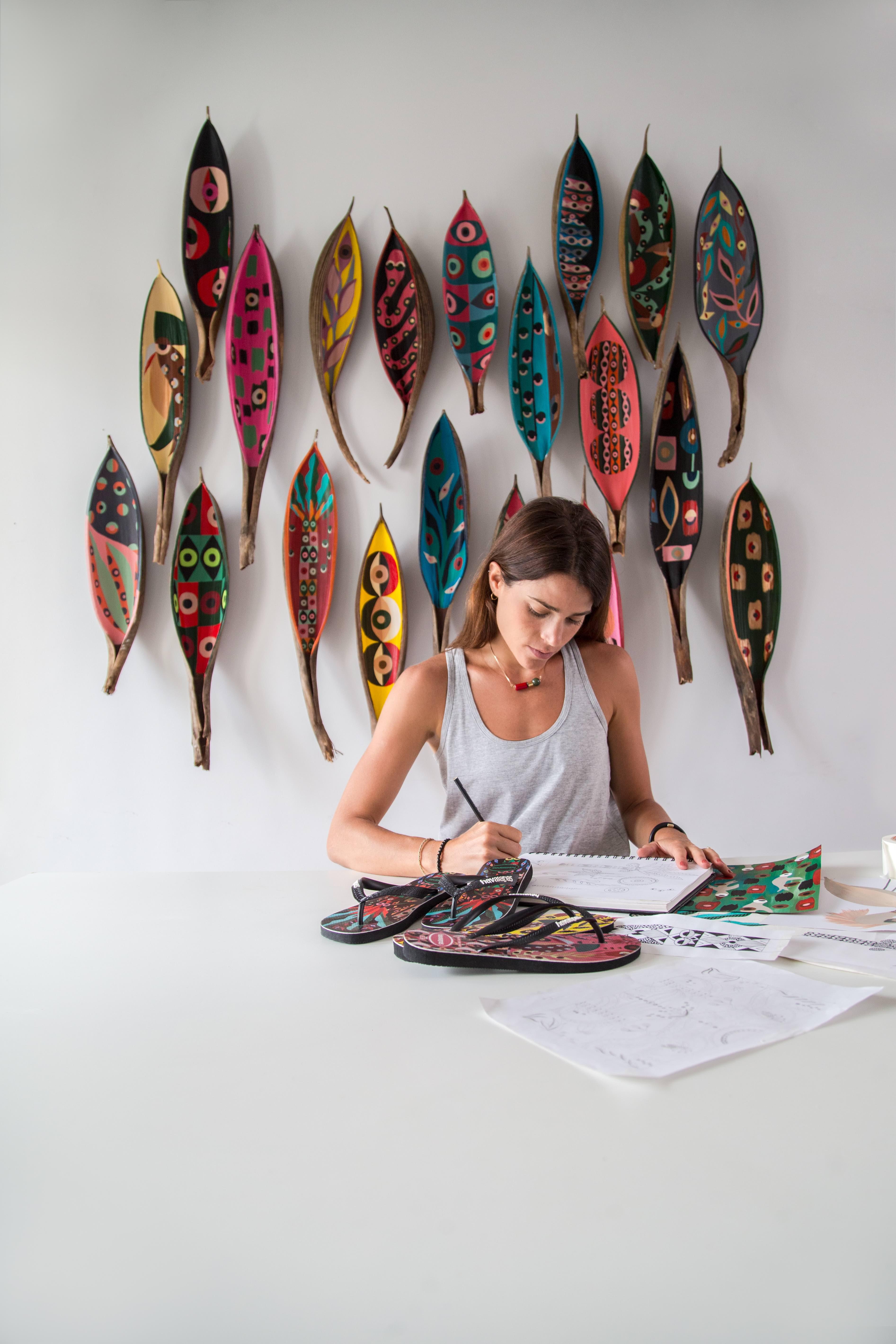 Naia Ceschin: a mais recente artista das Havaianas quer