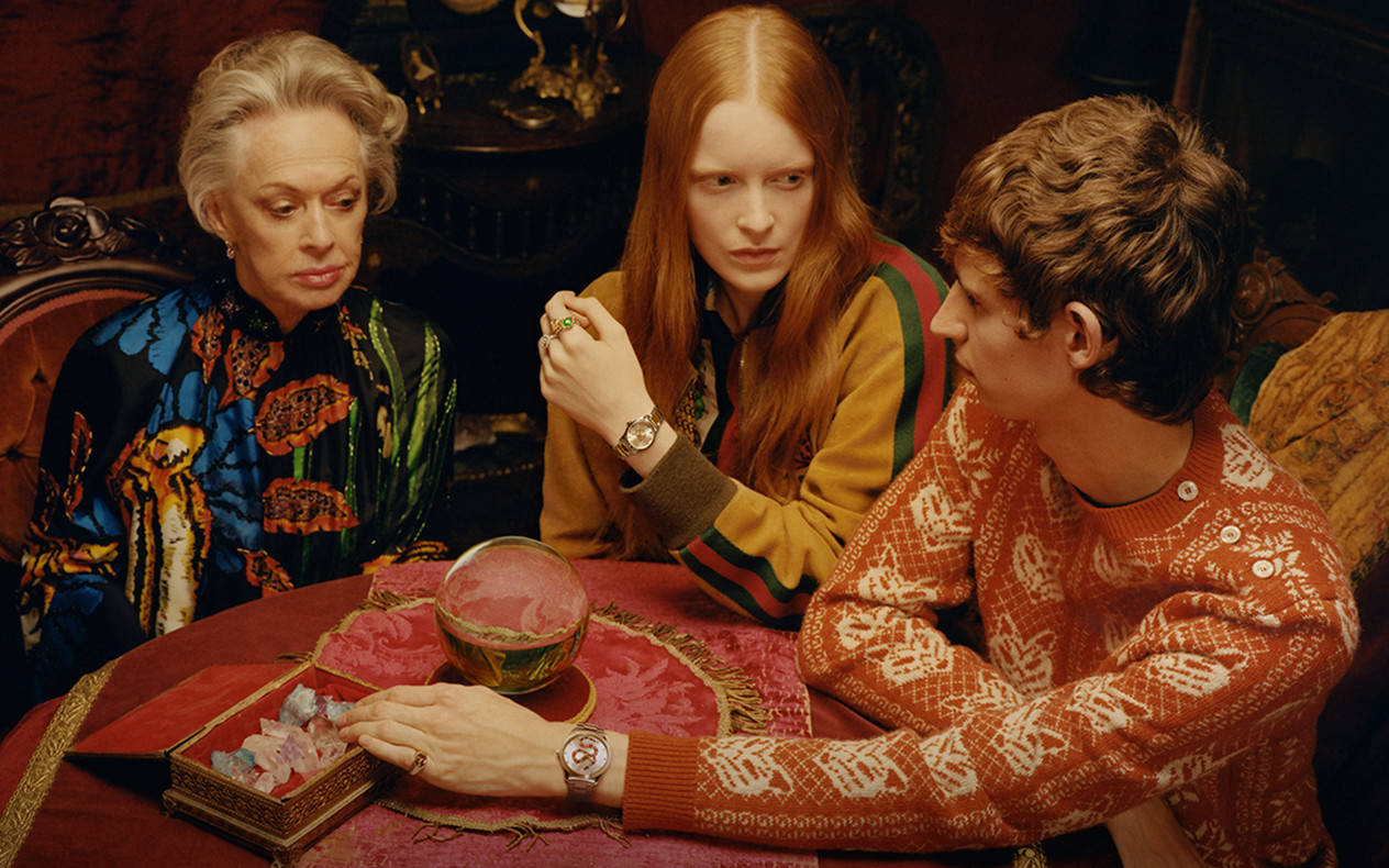The Fortune Teller, © Colin Dodgson para Gucci