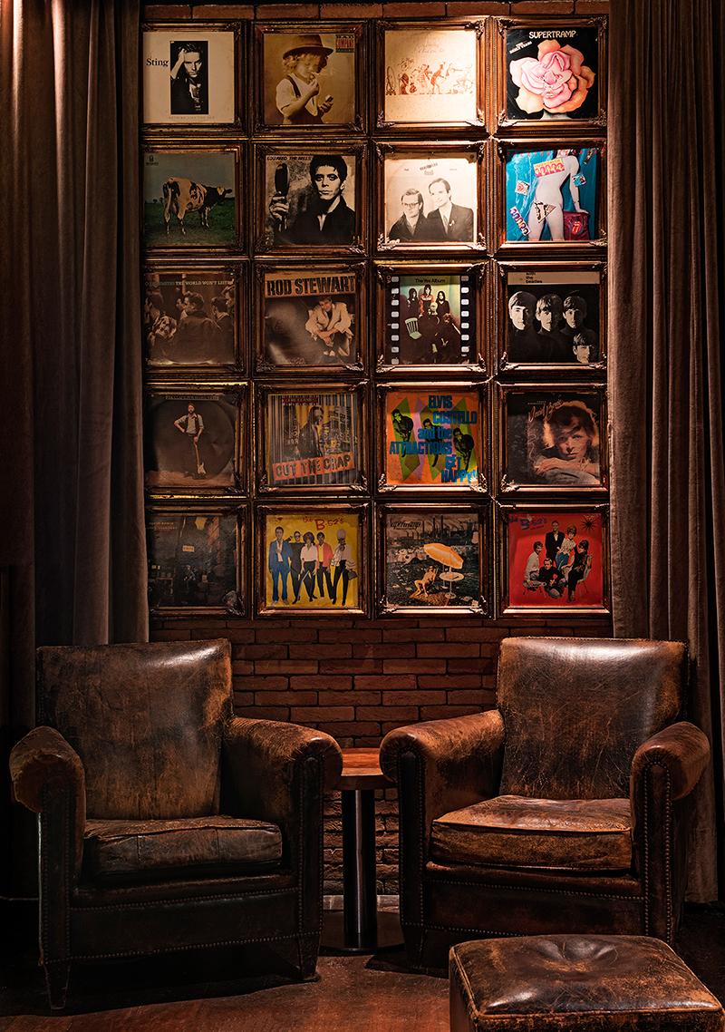 Baretto Londra, Hotel Fasano Rio