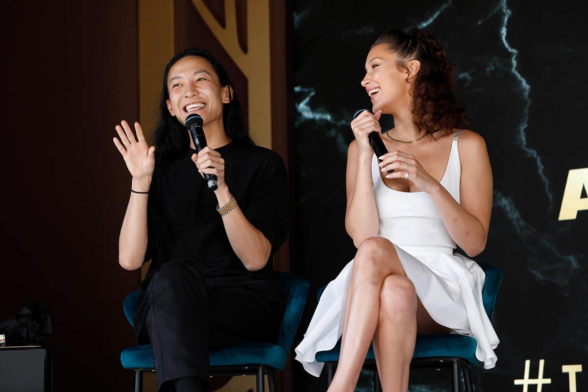 Alexander Wang e Bella Hadid © Magnum