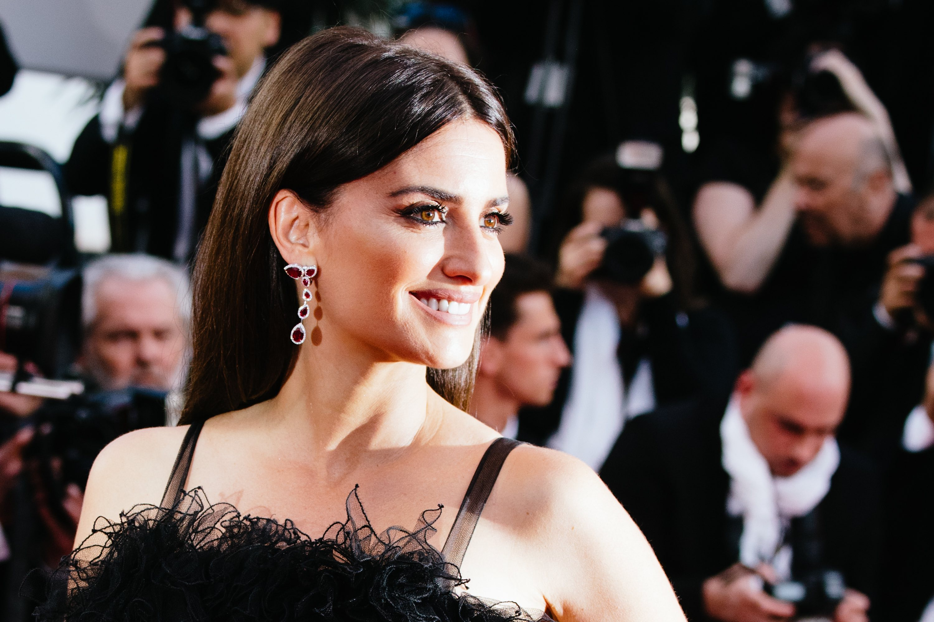 Penélope Cruz em Chanel e joias Swarovski, © Getty Images