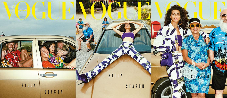 d1cf73634366e Aqui estão 12 motivos sérios que provam que só vai ser silly quem não  comprar a Vogue deste mês.