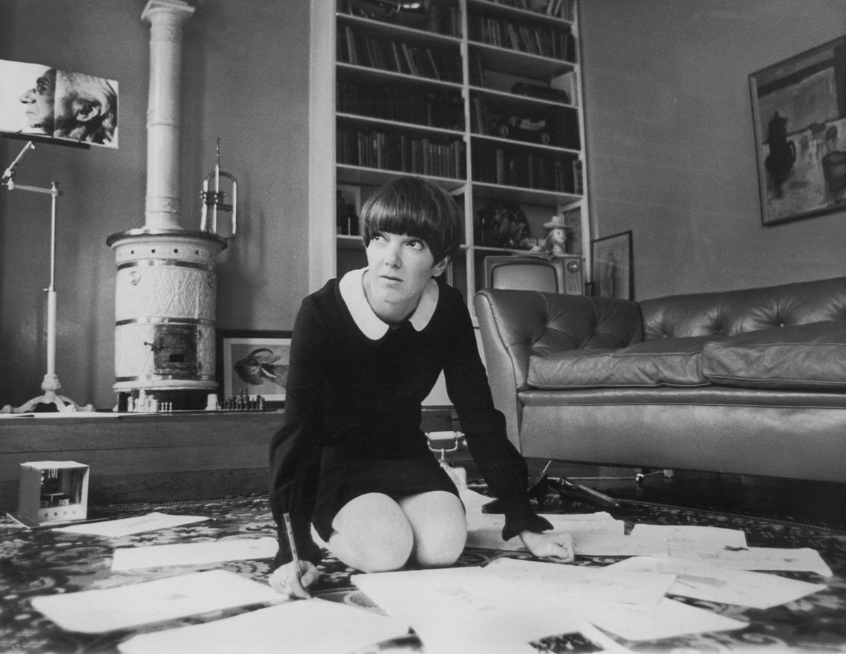 Mary Quant, 1967 ©Keystone-France/Getty Images