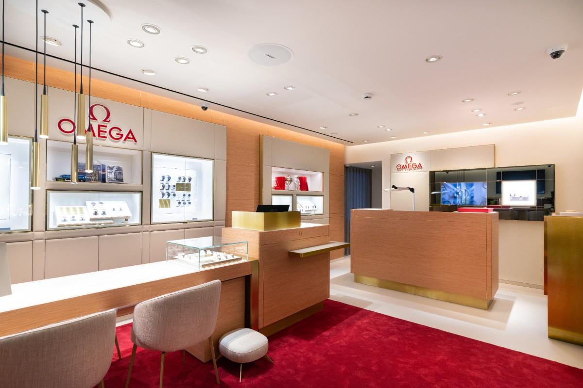 c6c16260767 Omega inaugura primeira loja em Portugal