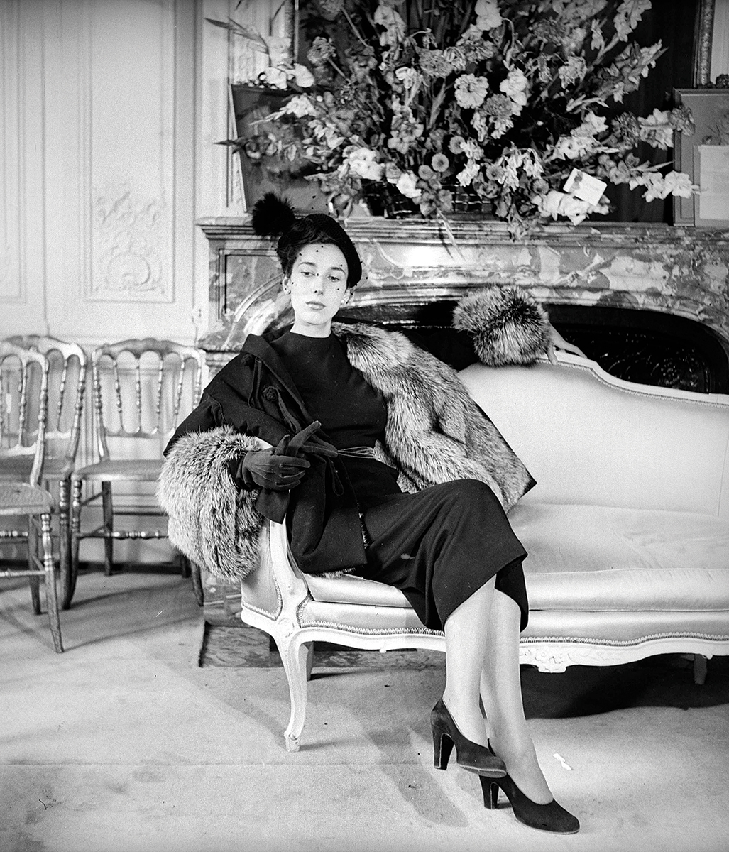 Uma modelo com o New Look de Christian Dior, 1947. ©Getty Images