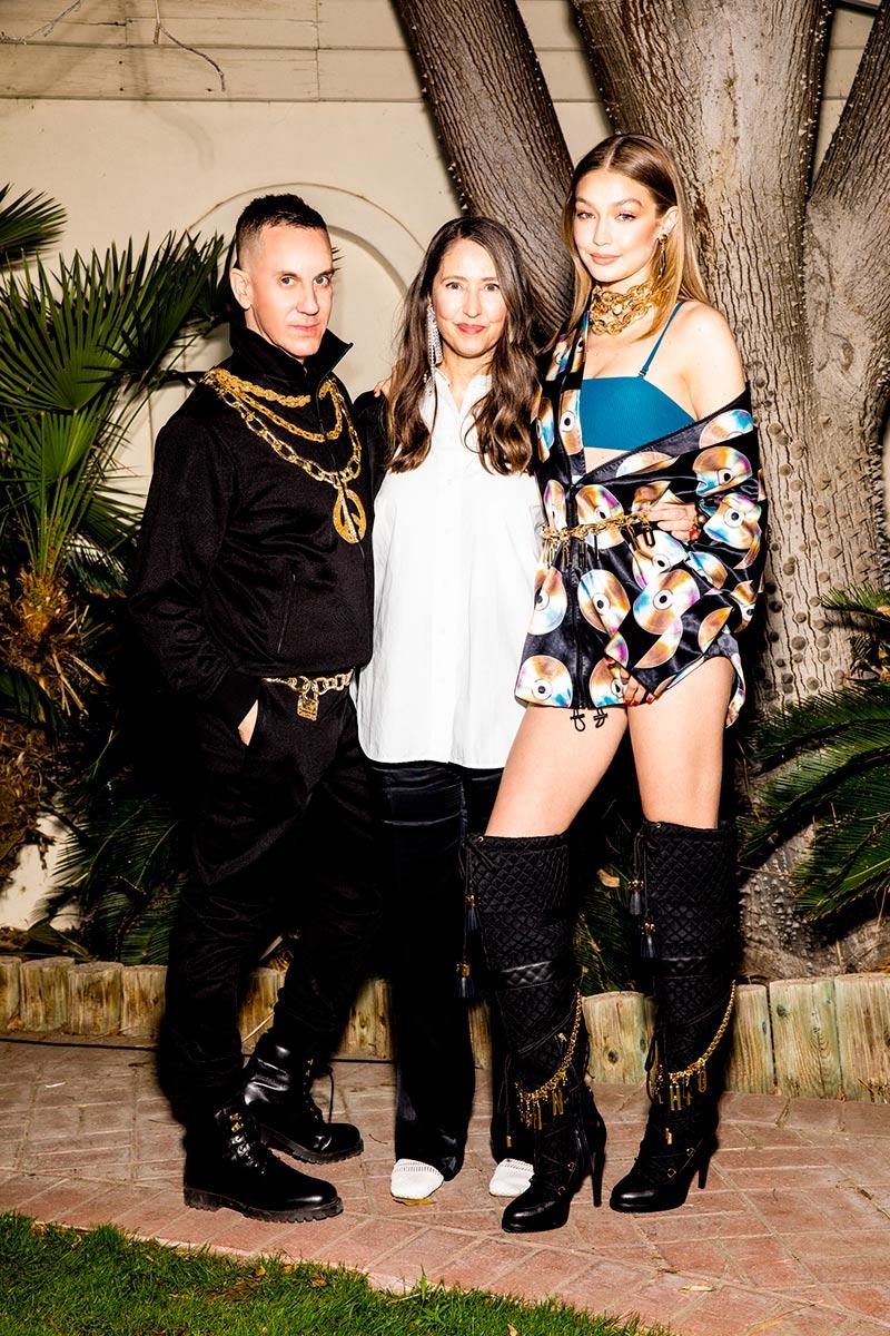 de3d30727 Jeremy Scott, Ann-Sophie Johansson e Gigi Hadid em Moschino [tv] H&M