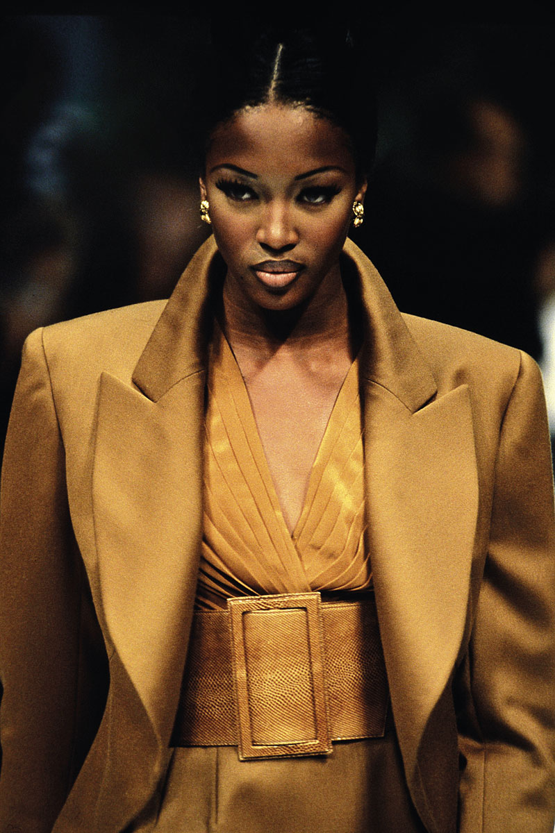 Naomi Campbell, 1992. ©Getty Images
