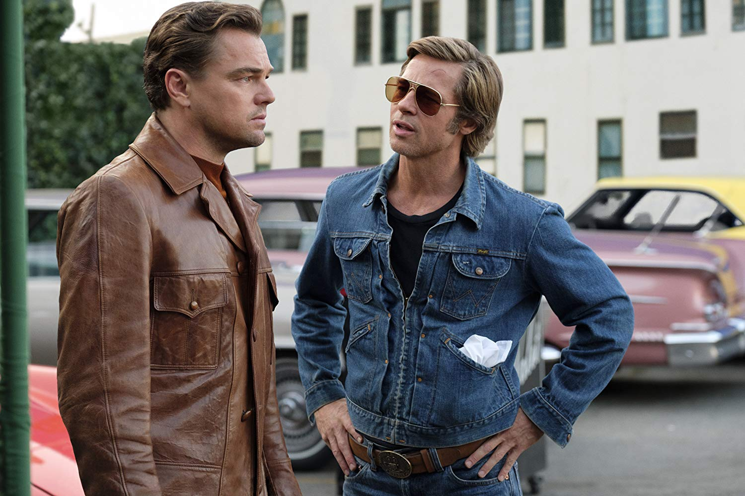 Leonardo DiCaprio e Brad Pitt em Once Upon a Time in Hollywood (2019) ©Sony Pictures