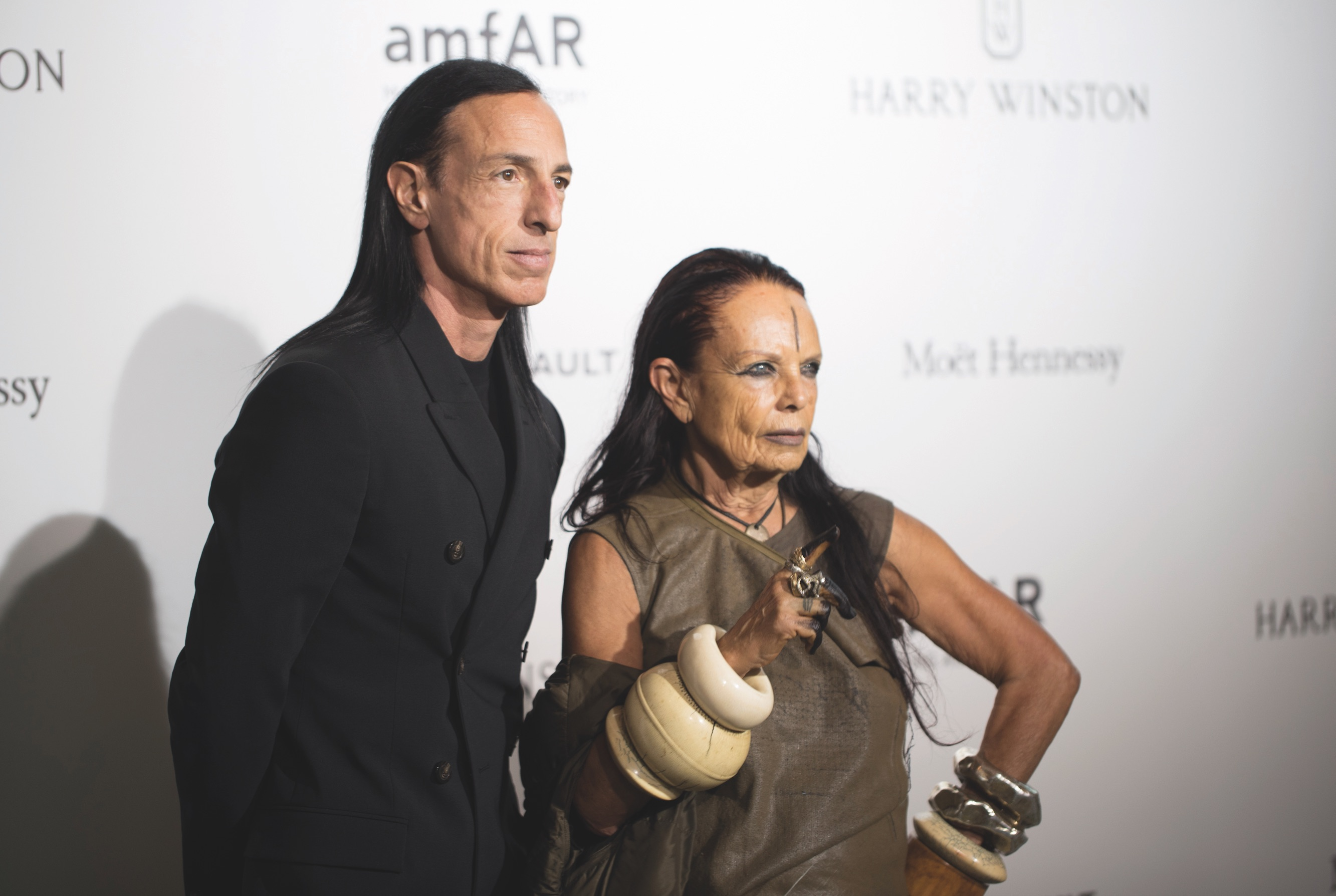Rick Owens e Michèle Lamy © Getty Images