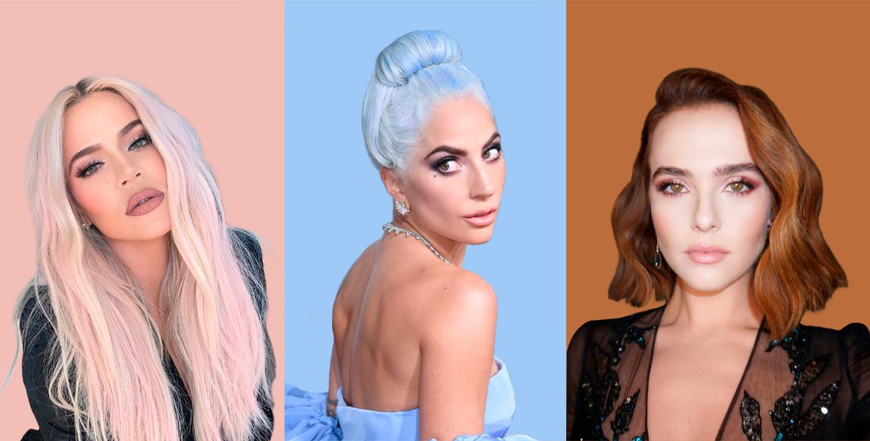 4dde90df7 Dos tons fantasiosos ao icónico preto dos longos fios de Cher, reunimos as  cinco cores de cabelo que serão tendência em 2019.