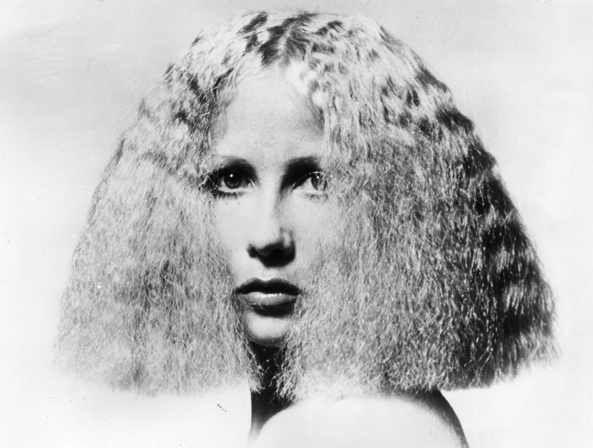 The 'ultra-frizzy' look designed by Parisian hairstylist Patrick Ales via Getty Images