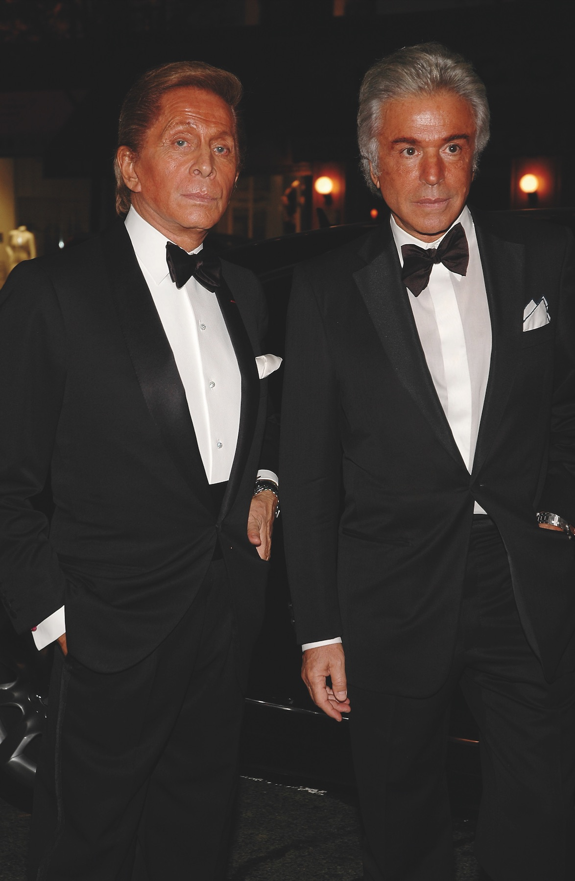 Valentino Garavani e Giancarlo Giammetti © Getty Images
