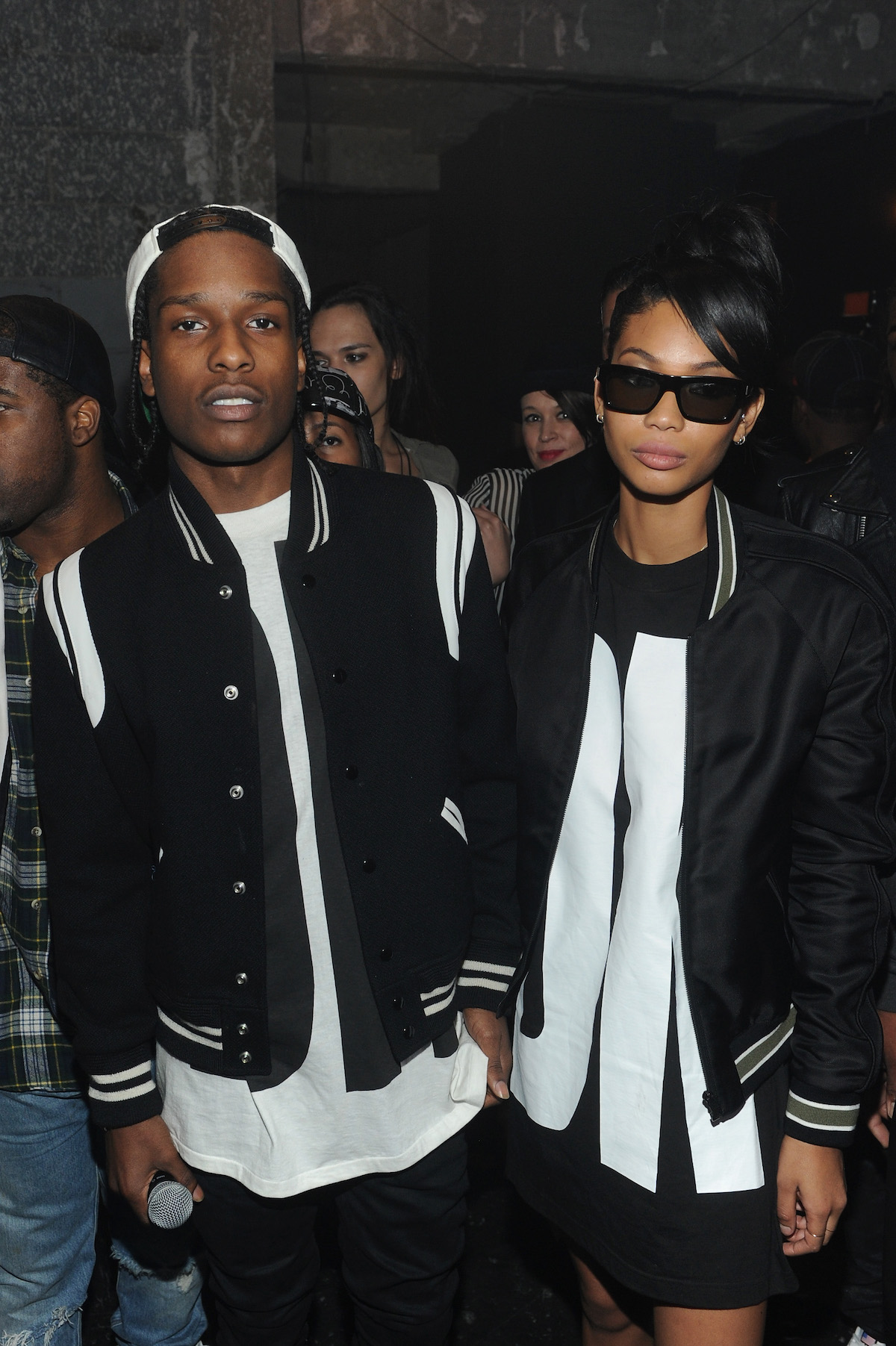 A$AP Rocky e Chanel Iman em 2013 © Getty Images