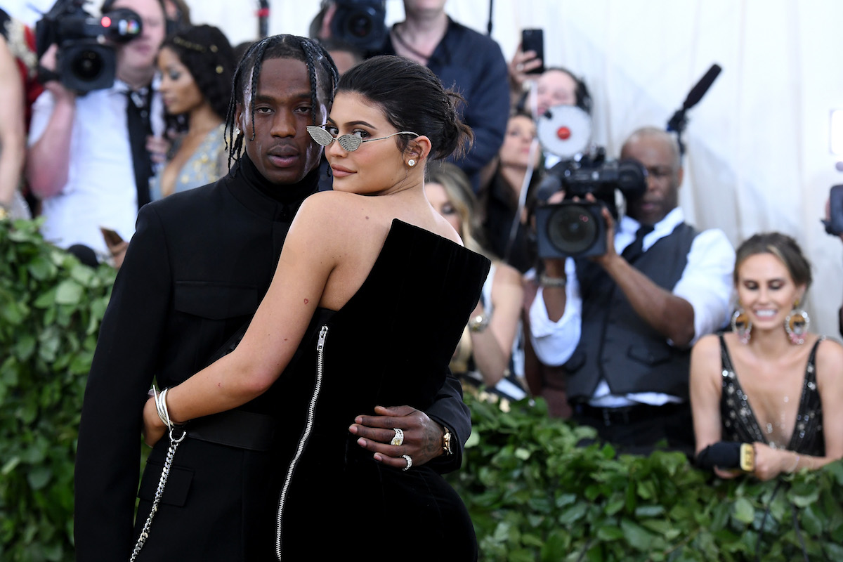 Travis Scott e Kylie Jenner © Getty Images.