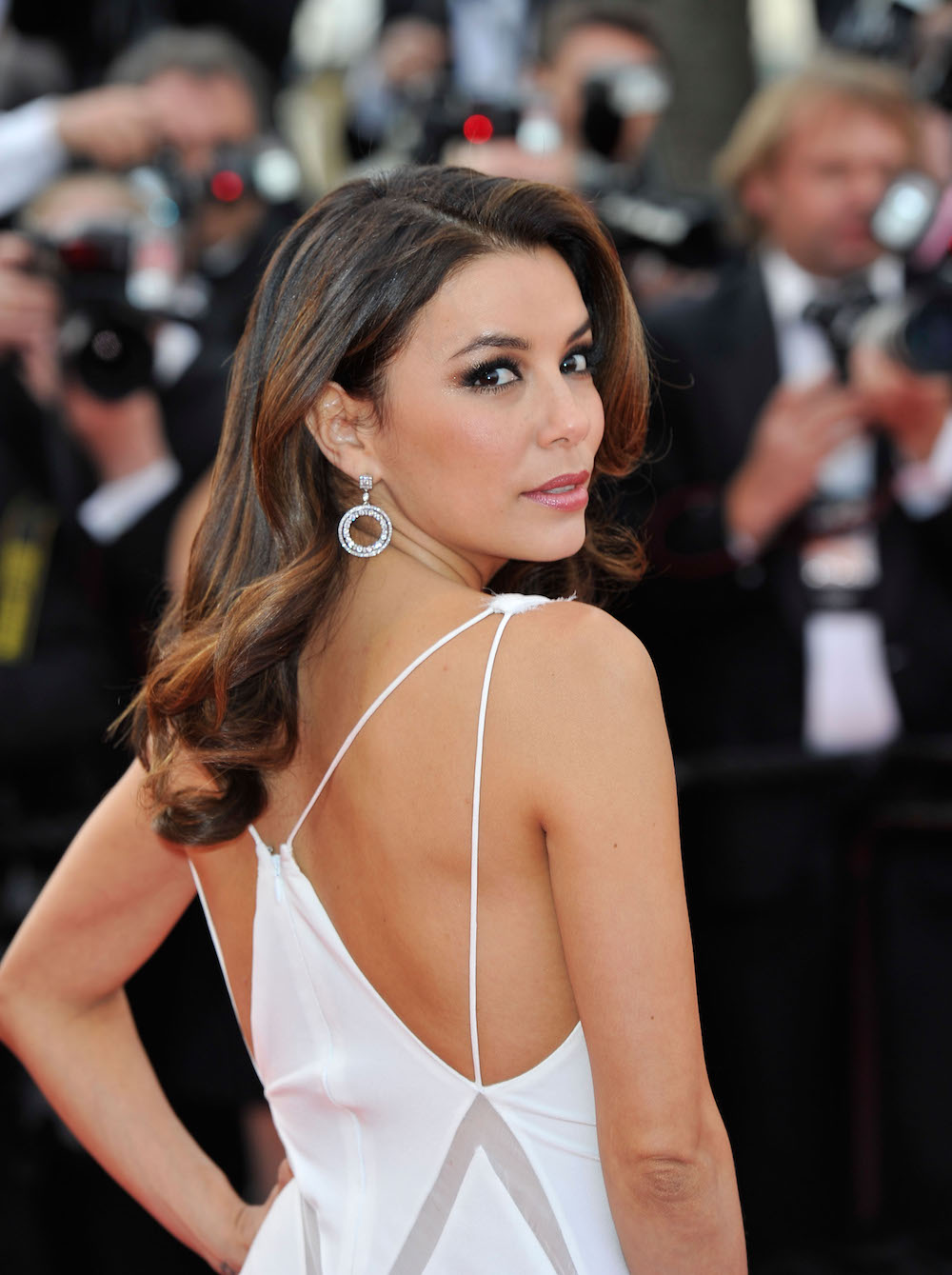 Eva Longoria em 2014 no Festival de Cannes© Getty Images