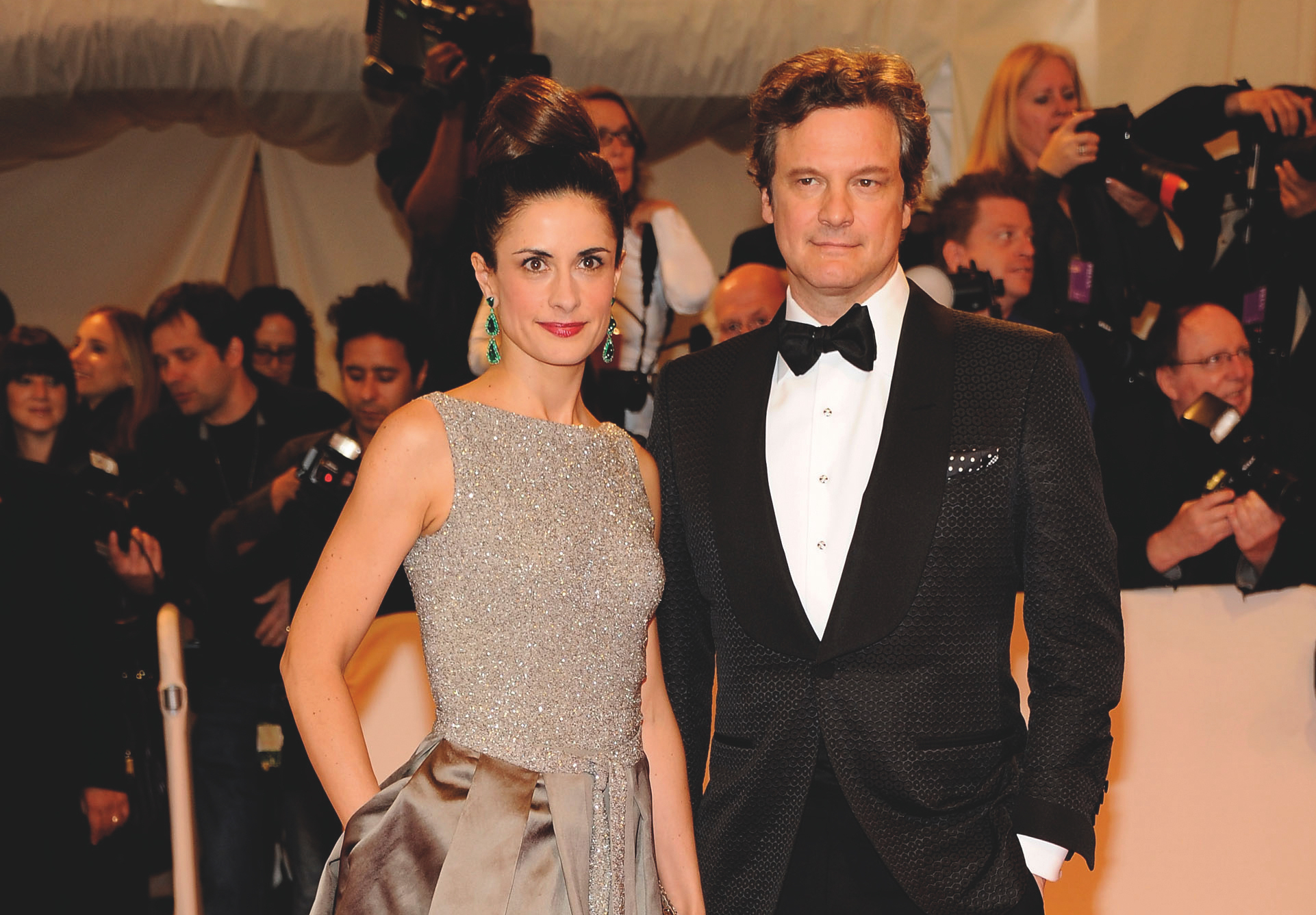 Livia e Colin Firth © Getty Images.