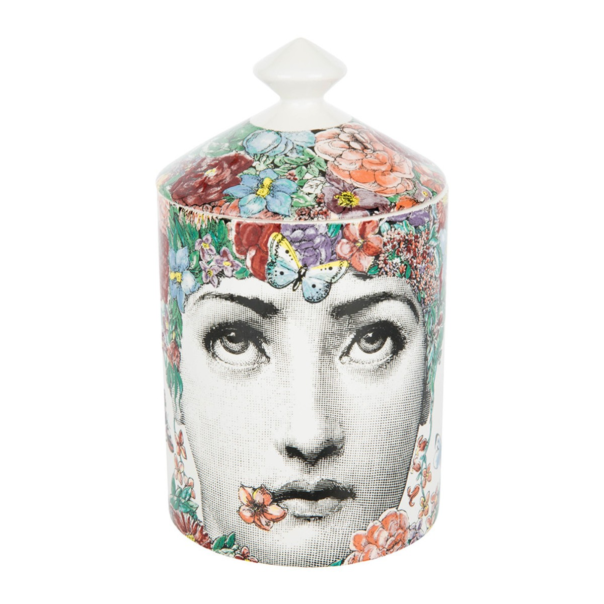 Vela perfumada Fior Di Lina, € 170, Fornasetti