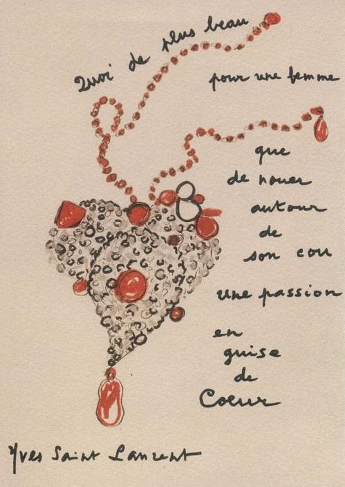 Os acessórios de Yves Saint Laurent num livro