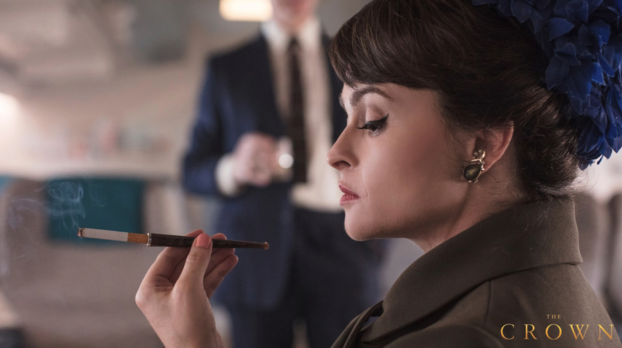 Helena Bonham Carter como Princesa Margaret