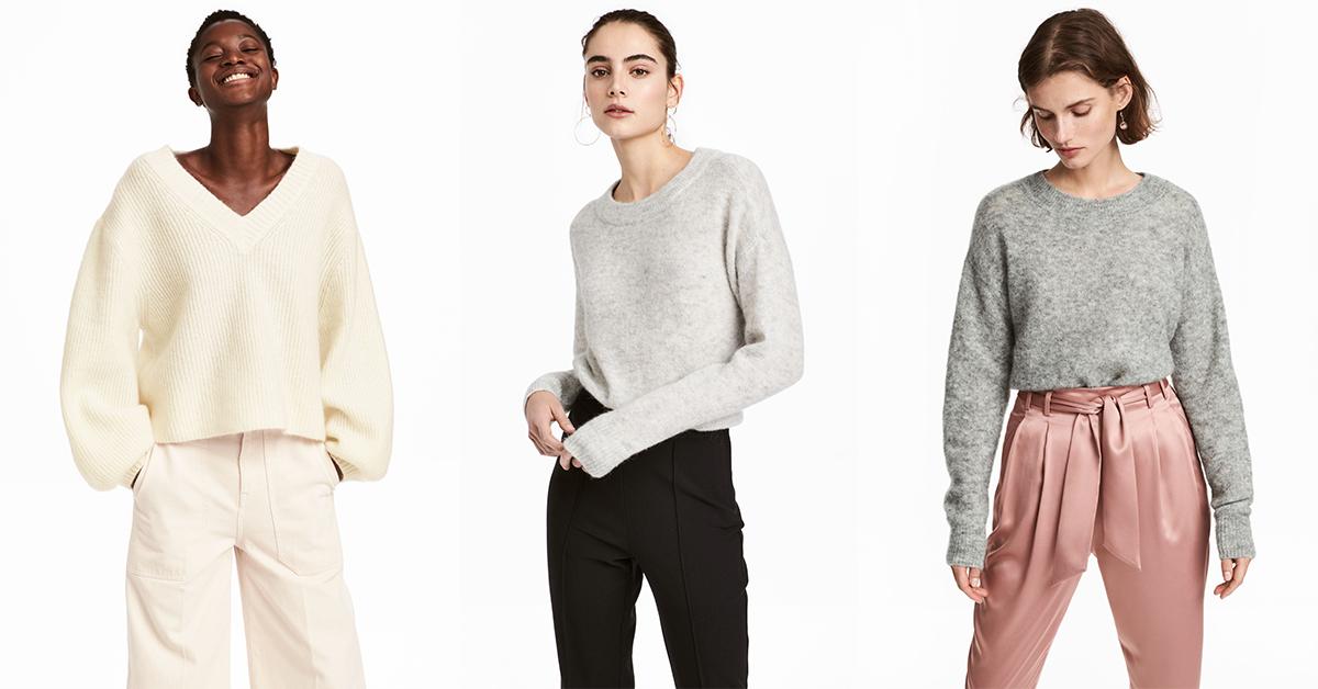 Camisolas H&M em mohair