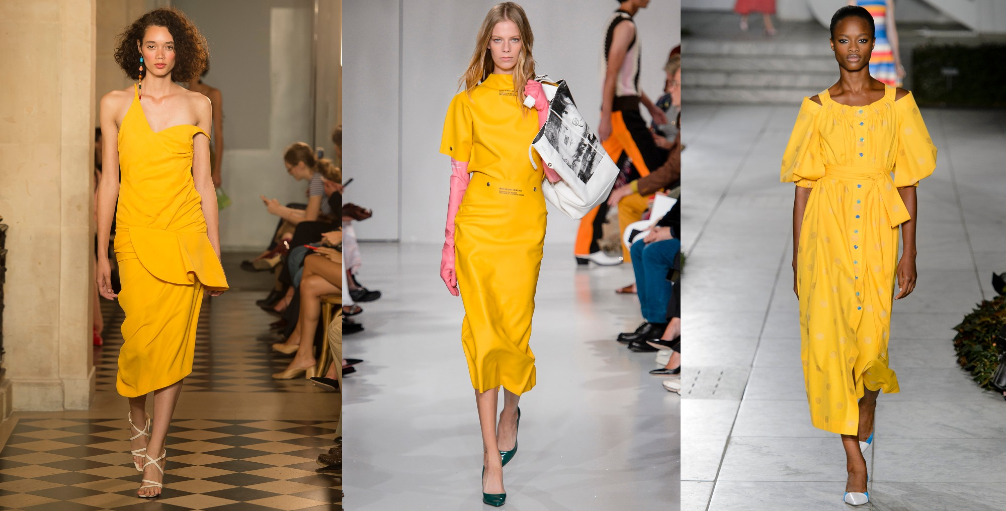 Jacquemus, Calvin Klein, Carolina Herrera  | primavera/verão 2018 ©Imaxtree