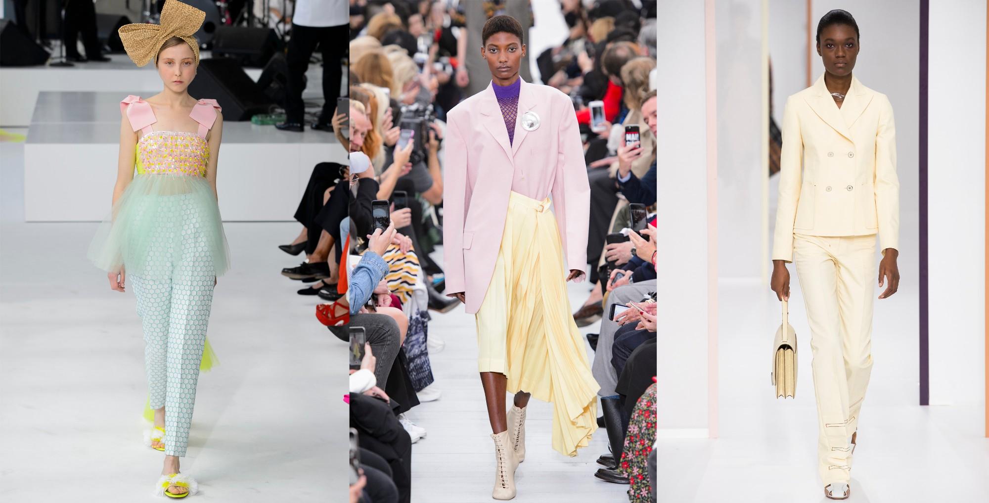 Delpozo, Céline, Hermès | primavera/verão 2018 ©Imaxtree